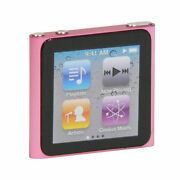 Apple Ipod Nano 8 Gb Pink 6th Generation 2010 Brand New And Sealed