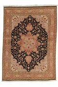 Genuine 4and0398 X 6and0398 Hand-knotted Bijar Wool Area Rug Area Rug Carpet