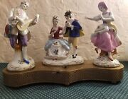 Vintage Melody Charm Figurines By Beck 1930s Music Box