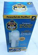 Bulbhead Air Police Advanced Ionic Compact Wall Outlet Air Purifier Led Light Nw