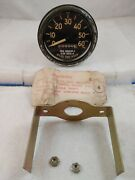 Vintage 1940and039s Military M Series Speedometer Ms 39021-1 Sw 503-a Unused Rares1
