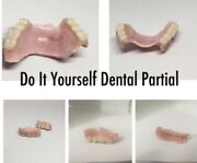 Partial Denture Make At Home Resin Teeth Flipper A2 Replace Missing Teeth