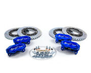 Agency Power Big Brake Kit Front And Rear Blue Ice 2017-2020 Can-am X3 Turbo Ds