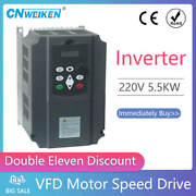 for Russian Ce 220v 1 Phase Input And 3 Phase Frequency Converter/ Ac Motor