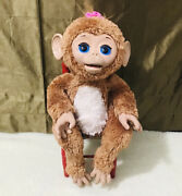 Hasbro Furreal Friends Cuddles My Giggly Monkey Interactive Pet