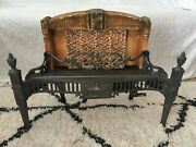 Antique Gas Space Heater 1929 W.l. Sharp Cast Iron Stove Fireplace Insert