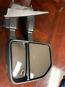 17-19 Ford Super Duty Rh Passenger Trailer Tow Side View Mirror Camera Used Oem