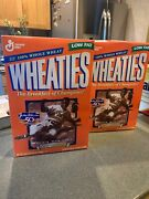 2 Box Lot Jackie Robinson Wheaties New Sealed Full Box 42 Dodgers Color Barrier