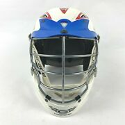 Cascade Cpxr Lacrosse Helmet Official Mll Red White Blue W/ Chin Strap Osfm