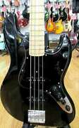 History Gh-bj4 E100366 Jazz Bass Black With Hard Case Ships Safely From Japan
