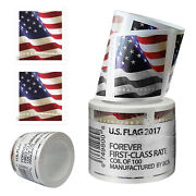 200 Pcs Usps 2017 Us Flag Forever America Postage Stamps Roll Of 100 Stamps