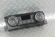 11-12 Ram 1500 Electronic Dual Zone Heat Ac Climate Control Assembly Oem Unit