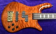 Spector Euro 4lx Doug Wimbish Sign Amber/rosewood 1.5 Nut/thin Neck On Order E