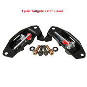1 Pair Tailgate Latch Lever 15921949 W/ Fits Gmc Escalade Chevy 1999-2007 3500