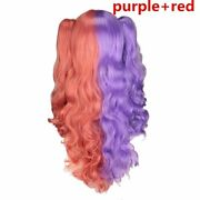 Womenand039s Ombre Toned Hair Wigs With Two Ponytails Heat Resistant Wig Headwear New