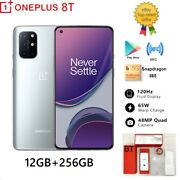 Oneplus 8t 256gb Android 11.0 Unlocked Octa-core 5g Cell Phone For Atandt T-mobile