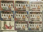 2014 Panini Prizm World Cup England Team Lot 8 /199 /149 /99 Gerrard Rooney