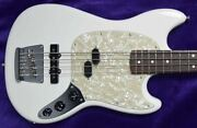 Fender Usa Am Performer Mustang Short Scale Arctic White / Rosewood Minor Cosm