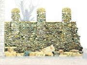 Model Victoria 1/35 North-east Italian Stone Wall With Pillars Section Wwi 1411