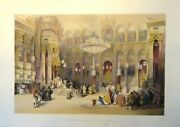 Interior Of The Greek Church Of The Holy Sepulchre, By David Roberts, Date1845,