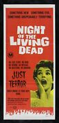 Night Of The Living Dead Cinemasterpieces Australian Walking Zombie Movie Poster