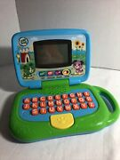 Leap Frog My Own Leaptop Kids Pretend Laptop Computer Educational Green Blue