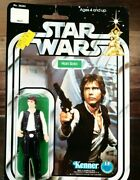 Original Star Wars Han Solo Action Figure Hong Kong 1977 Kenner