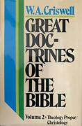 Great Doctrines Of Bible V. 2 By W A Criswell - Hardcover