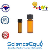 Media Culture Test Tubes Amber Glass 16 X 55 With Screw Caps Ptfe Liner - 5 Ml