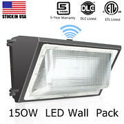 Dusk To Dawn 150w Led Wall Pack Commercial Lights Outdoor Area Security Lighting