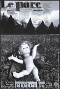 Original Vintage Poster Le Parc Botho Strauss Theater Doll Creepy French 1990s