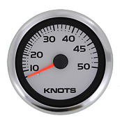 Marine Boat Argent Pro Speedometer 50 Knots Including Pitot