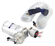 Marine Boat Water Pressure System With Deck Wash Kit