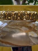 22k Gold Bangle Bracelet Unique Design Made In India Free Shipping
