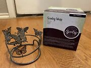 Scentsy Silhouette/core Metal Warmer Wrap Full Size Butterfly Discontinued