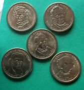 2007 2008 2009 2010 2011 Presidential Dollars / Liberty Obverse / Circulated