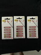Supreme Post-it Flags Red 100 Authentic Free Shipping Lot Of 3