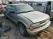 Seat Belt Front Crew Cab Bucket Driver Fits 01-04 S10/s15/sonoma 1077285