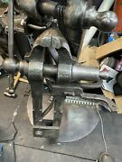 Will Ship Freight Ask For Quote Huge Rare 7andrdquo Iron City Blacksmith Post Leg Vise