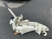 Sears Ted Williams 7.5 Hp Outboard Engine Mcculloch Used Runs Pick Up Only Nj