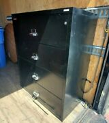 4door Lateral Fire-proof File Cabinet By Fire King W/ Lock And Key