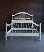 Queen Bed Frame  Country French Wheatback Bed By Ethan Allen