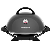 George Foreman 15+ Serving Indoor / Outdoor Electric Grill With Ceramic Plates,