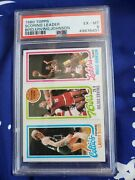 1980 Topps Basketball Complete Set With Magic Dr J Bird Rc Psa 6