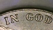 Us Coin Error Double Die Letter Obverse In God Good Luster