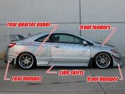 2006-2008 Honda Civic 2dr Coupe Gti Style Full Wide Body Kit By Ait Racing