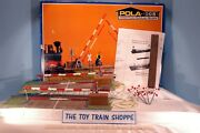 Pola 940 Crossing Gate Set. G Scale. Used In Box.