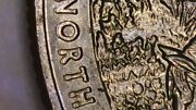Us Coin Error 2016 State Quarter Double Die On Letters Obverse