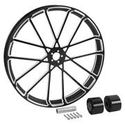 18/21/23/26/30and039and039 Wheel Rim Hub Single/dual Disc Fit For Harley Touring 08-21 Us