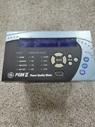 Pqmiit20ca General Electric Power Quality Meter Pqmii